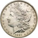 Image of Silver Morgan Dollar