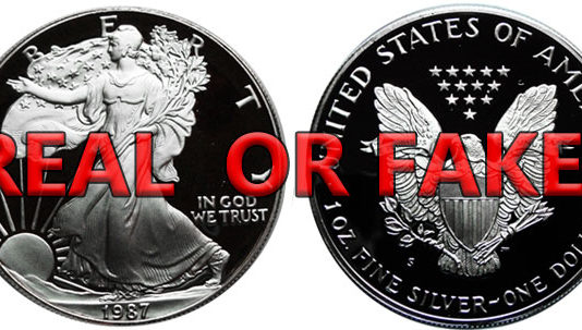 fake silver coins guide