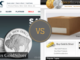 APMEX vs GoldSilver