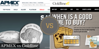 APMEX vs Goldline