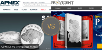 APMEX vs Provident metals