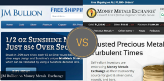JMBullion vs Money Metals Exchange