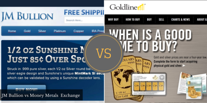 JMbullion vs Goldline