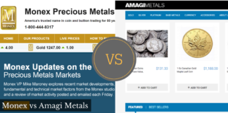 monex vs amagi metals