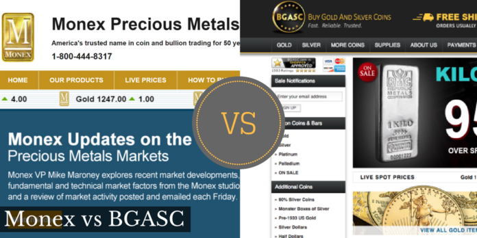 monex vs bgasc.com
