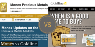 monex vs goldline