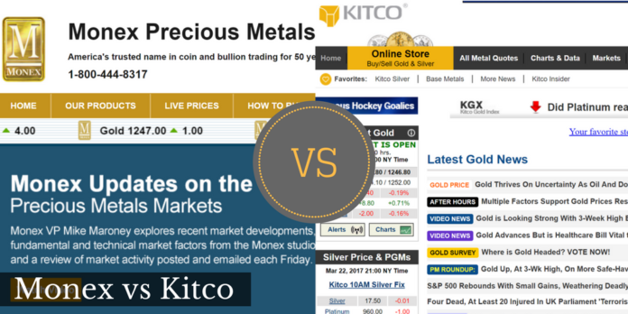 monex vs kitco