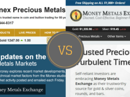 monex vs money metals exchange