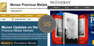 monex vs provident metals