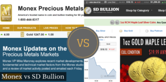 monex vs sd bullion