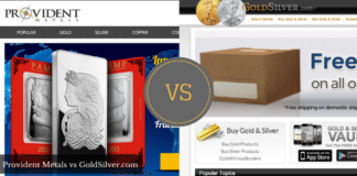 provident metals vs goldsilver