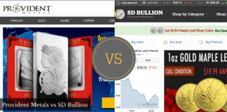 provident metals vs sd bullion